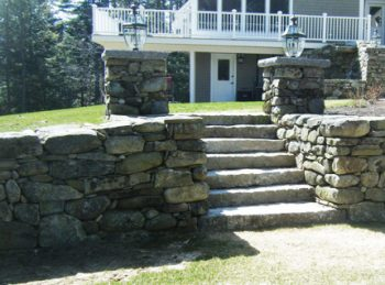 How To Build A Stone Retaining Wall Without Mortar Dfw Landscaping